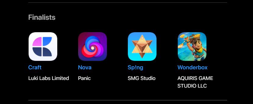 Meet the WWDC 2021 – Apple Design Award & Winners